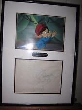 Lot of Pinnochio Emperor of the Night Disney animated Cels(#3) w/Sketches 1987!!