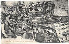 CAUDRY (59) usine tissage métier à dentelle gros plan