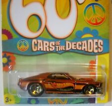 2010 Hot Wheels CARS OF DECADES 60s #15/32 ∞ '69 FORD MUSTANG ∞ MF BROWN NiCE