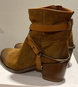 "NIB Sundance Catalog Freebird Style Suede ""Ambleside Boots"" Size 36/ 6.5 $298"