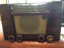 VINTAGE PHILIPS BAKELITE TUBE RADIO BM-405 A