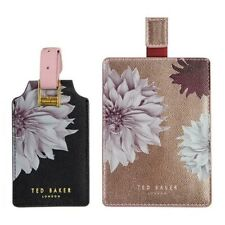 Ted Baker Clove Passport Holder and Luggage Tag Set in Gift Box *Brand New*