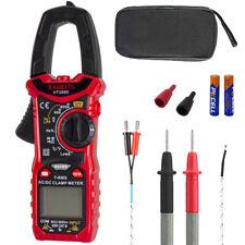 Ht206 Ac Dc Digital Clamp Meter Multimeter Pinza Amperimetrica True Rms High Pre