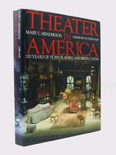 MARY C HENDERSON - signed to JOHN GIELGUD - Theater in America 1st HB DW Theatre