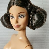 (B39) ~ NUDE BARBIE GOLD LABEL STAR WARS MODEL MUSE PRINCESS LEIA DOLL FOR OOAK