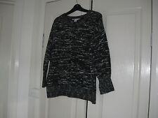 Ladies Jumper Design Rockmans  Size S Colour Black & White Long Sleeves