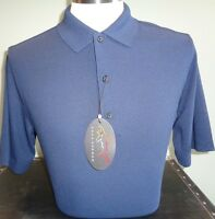 NEW MENS Greg Norman PRO SERIES Play Dry MICRO Pique SOLID Polo Golf SHIRT, $65