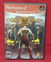 God of War II -  PS2 Playstation 2 Game Working Complete