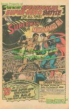 Superman Vs. Muhammad Ali: Batman Ver. Comic Print Ad!