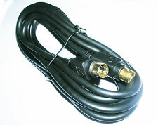 Pro Gold 4 Pin SVideo SVHS TV Lead M-M  3M Cable Hi Def