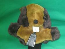 DRIVER GOLF HEAD CLUB COVER BUCKTOOTHED BEAVER CADDY SHACK GOPHER BROWN PLUSH