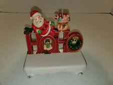 Midwest of Cannon Falls Santa Claus Cast Iron Stocking Holder Hanger Christmas