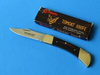 COMPASS Japan Tomcat Lockback Knife No. 508 NEW Safety Lock Folder 440 Stainless