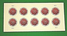 NEW! Pane of 10 Global Forever Chrysanthemum Stamps (International 1st Class)
