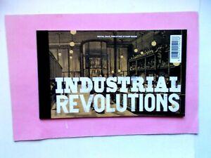 GREAT BRITAIN: 2021 Prestige Book DY39 Industrial Revolutions U/M 4panes