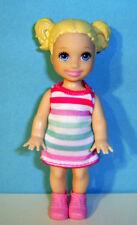 %***Barbie Schwester Happy Family,Crissy mit Zöpfen,Kleid,Schuhe,Kind***%