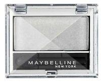 3x Maybelline Eyestudio Mono Eyeshadow - 01 Snow White