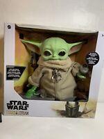 """Star Wars Mandalorian The Child Yoda Plush 11"""" + Accessories Costco Exclusive"""