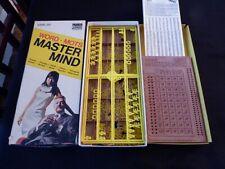 Vintage Word Mastermind Master Mind Game Parker Bros - 1972