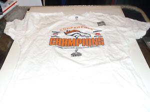 Denver Broncos Womens' NFL   2013 AFC  Champion proline shirt   XXL