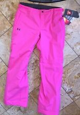 NWT Under Armour Infrared ColdGear Pink Sports Snow Pants Youth Girl's XL YXL
