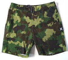 HURLEY PHANTOM - Camouflage Stretch Board Spandex Gym Shorts W31/L18   (BNWT)