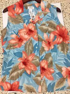 Kapalua Golf Shirt Liz Clairborne Golf Womens Size M Shirt