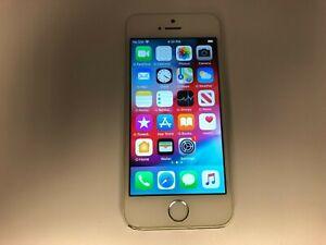 Apple iPhone 5s - 16GB - Silver (Unlocked) A1533 (CDMA + GSM) Smartphone