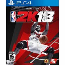 NBA 2K18: Legend Edition (Sony PlayStation 4, 2017) - New - Sealed