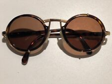 23bc5116f84c Vintage CAZAL MOD 644 OVAL GOLD with Tortoise Frame   Arms.
