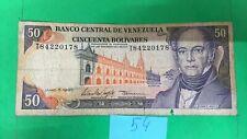 VENEZUELA banknote 50 Bolivares 1995