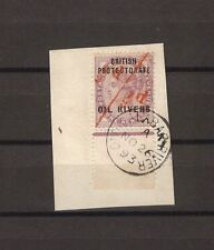 """NIGERIA/OIL RIVERS 1893 SG 7a """"Unsevered Pair"""" Cat £450"""