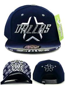 Dallas New Youth Toddler City Fade Cowboys Colors Blue Gray Era Snapback Hat Cap