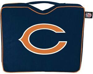 Chicago Bears STADIUM SEAT CUSHION w/ Handle Padded Bleacher NFL Game Day NEW