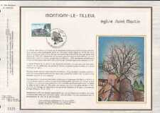 Feuillet CEF Belgique n°389 Montigny-le-Tilleul  cachet 23-6-84 Montigny-Tilleul