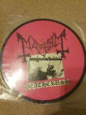 Mayhem PINK Deathcrush pic picture LP lim 272/1000!