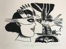 """Guillaume Corneille (Cobra) Lithographie signée """"Impression de la Havane"""""""
