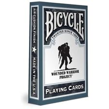 Bicycle Wounded Warrior Playing Cards USA Veterans Army Navy Air Force Marines