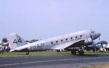 Original 35mm Aircraft slide Douglas DC-2 #44