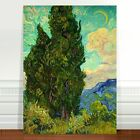 Vincent Van Gogh The Cypress ~ FINE ART CANVAS PRINT 8x12""