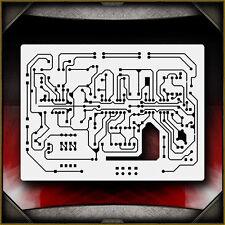 Circuit Board 2 Airbrush Stencil Template Airsick