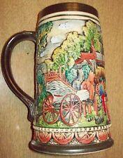Train Beer Stein Collector Mug Germany Ransbach-Baunbach in Westerwald Ww I Art