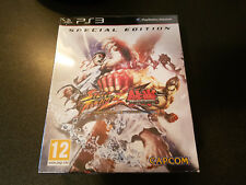 STREET FIGHTER X TEKKEN SPECIAL EDITION NEUF PS3 SONY PLAYSTATION FR