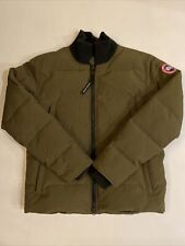 Canada Goose Wolford Jackson Men's Bomber Jacket Military Green Sz XL MSRP $775