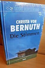DIE STIMMEN Christa von Bernuth OVP NEU Tatort Deutschland Krimi Thriller
