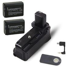 Vertical Battery Hand Grip IR Remote f Sony A6300+ 2pcs NP-FW50 battery BG-3DIR