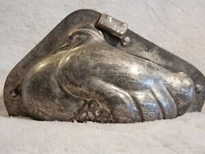 Rare Antique Dove with Chicks Chocolate Mold by Letang
