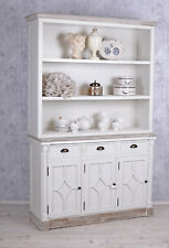 Kitchen Buffet Country style white shelf with drawers highboard wood cabinet new