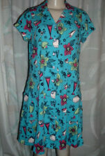 PATIO CASUALS BY CABERNET ~ WOMANS SHORT SLEEVE BUTTON DOWN SHIRT DRESS ~ SIZE S