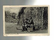 1939 Zanzibar KUT Africa to New Jersey USA RPPC Real Picture Postcard Cover
